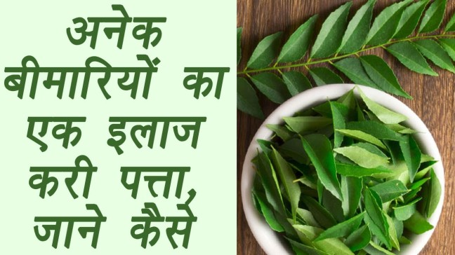 Advantages and some disadvantages of eating curry leaves/WorldCreativities