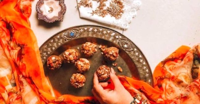 So fond of eating sweet, make gilt free tasty laddus this Diwali/WorldCreativities