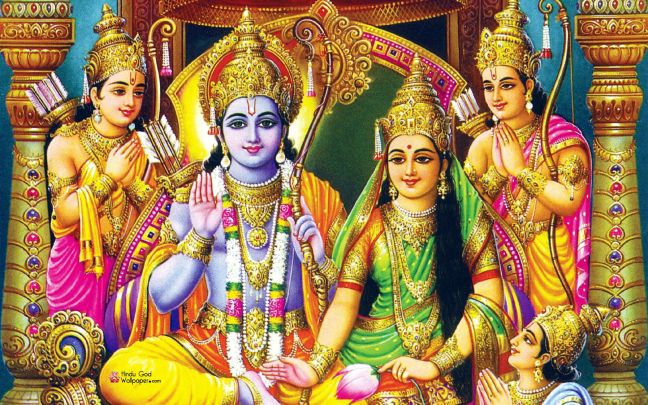 Ramayana (Shri Ramcharitmanas) is the events in Balakanda from the birth of Lord Rama to Ram-Vivah / WorldCreativities