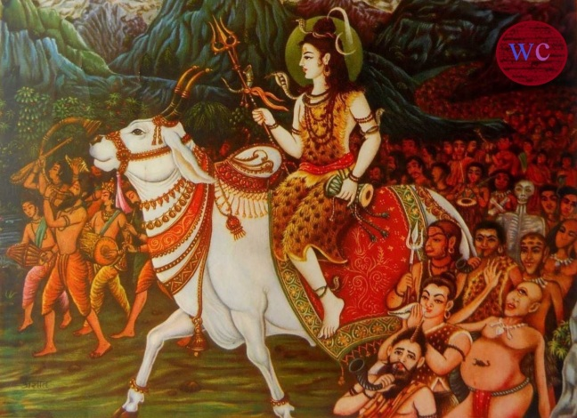 Twenty-six part of Ramayana (Shri Ramcharitmanas) Balkand - Shiva's bizarre procession and preparation for marriage/WorldCreativities