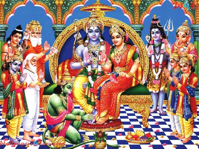 Ramayana (Shri Ramcharitmanas) Forty-seven part of Balkand - Vishwamitra, including Shri Ram-Lakshmana, enters Yagyashala/WorldCreativities