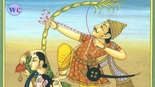Twenty-three of the Ramayana (Sri Ramacharitmanas) Balakanda - Kamadeva's going to Devkarya and being consumed/WorldCreativities