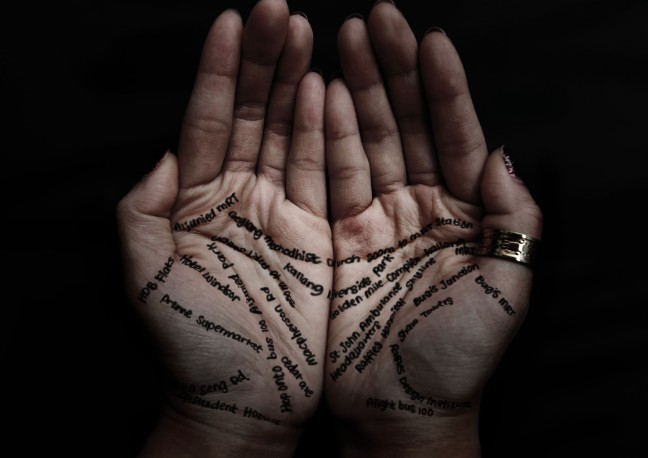 Palmistry The lines of the hands throw light on the present, past and future of the person./WorldCreativities