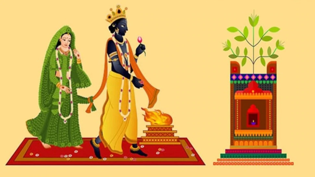 Tusli Marriage 2020 | You know when and how Tulsi marriage is celebrated/WorldCreativities