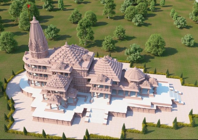 Why was the Sri Ram temple auspicious for the Bhoomi Poojan on August 5? Know astrology. Abhijeet Muhurta and Bhadrapada start - @worldcreativities