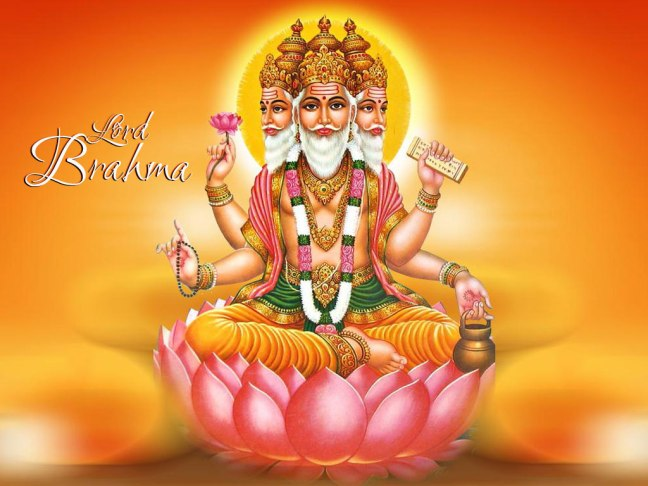 Lord Brahma | Origin of Lord Brahma | Character of Lord Brahma and His Emblem
