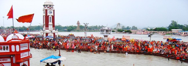 It is being held in Haridwar. Haridwar Kumbh Mela 2021 | Kumbh Mela is being celebrated this time after 12 not 11 years - @worldcreativities