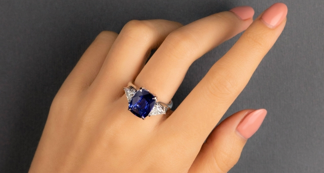 Sapphire is the fortune of people born in September. There is also some auspicious gemstone for every person - @worldcreativities