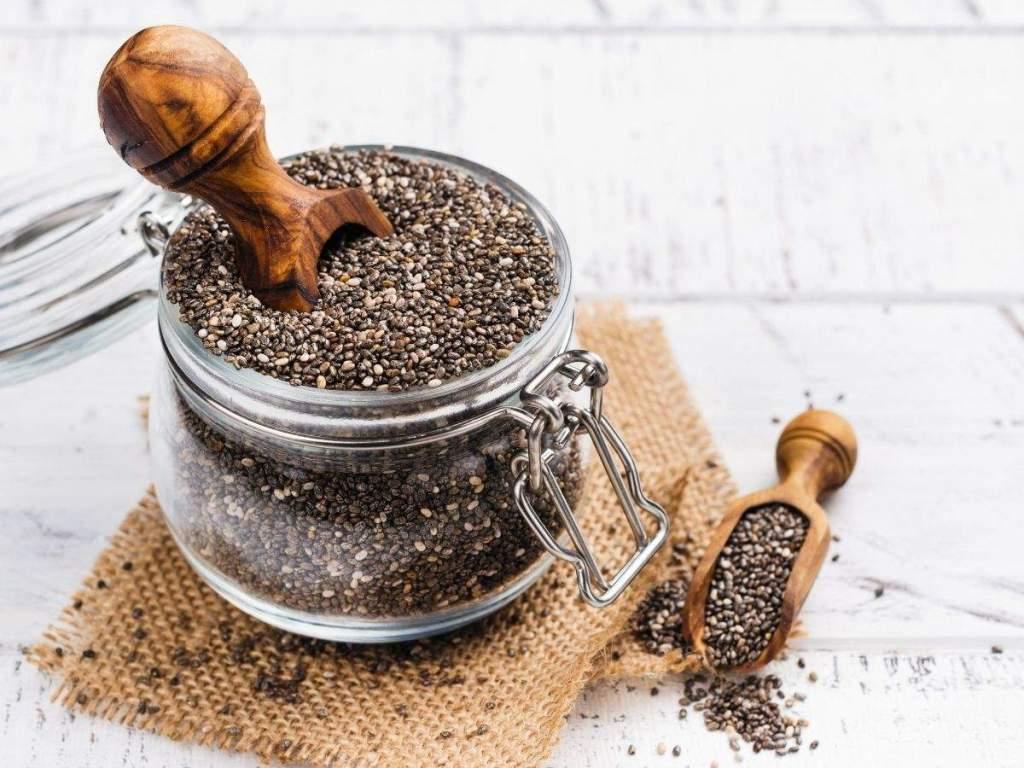 world creativities Chia seeds strengthen bones and boost immunity.