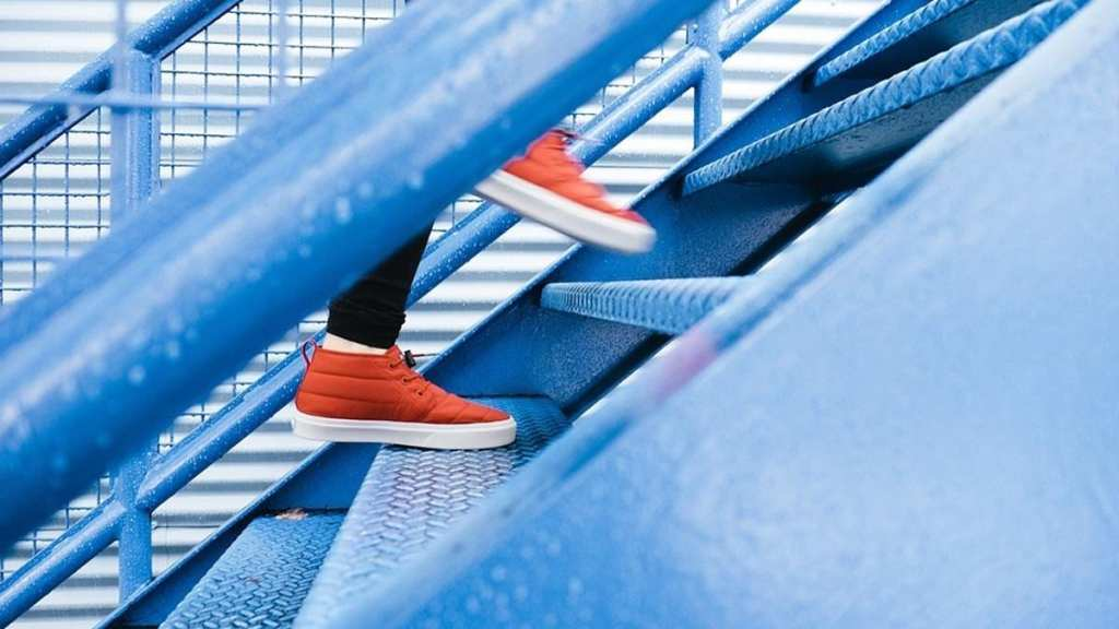 world creativities Learn how healthy we all are by climbing stairs