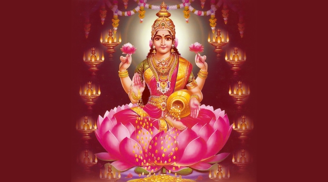 Friday, Lakshmi will always reside in the house