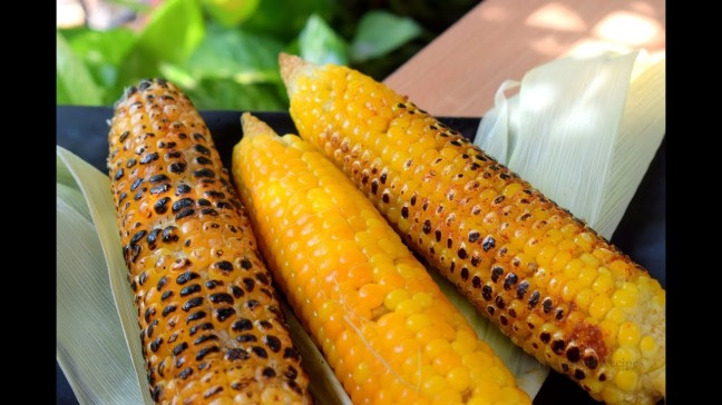 world creativities Roast corn like this in 2 minutes at home - www.worldcreativities.com