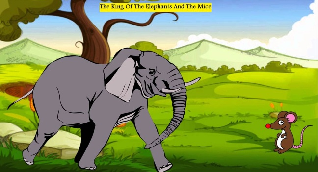 King Of Elephants and King of Mice Panchatantra Story In Hindi