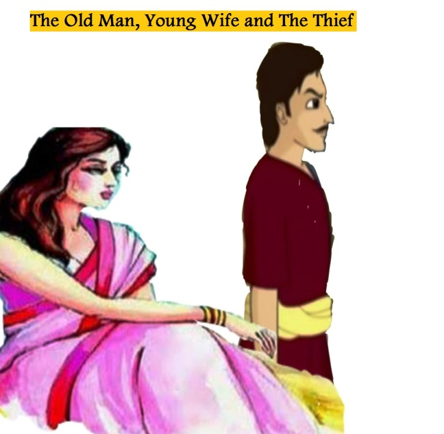 The Old Man, Young Wife, and Thief Panchatantra Story In Hindi
