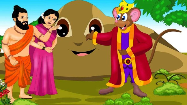 The Wedding Of The Mice Panchatantra Story In Hindi