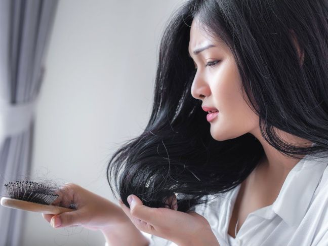 If you are troubled by the problem of hair fall, then use soybean oil