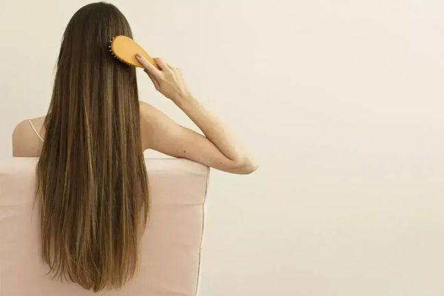 Make hair naturally straight like this