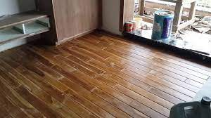 How to get rid of moss on a wooden floor