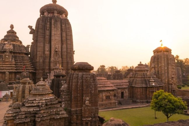 Bhubaneswar is popular for ancient temples