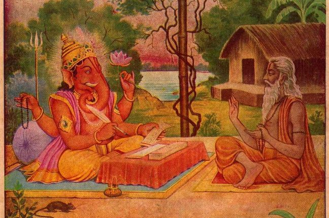 Ganesh: The story of Mahabharata was written by Ganesh ji without stopping, this condition was placed in front of Maharishi Ved Vyas