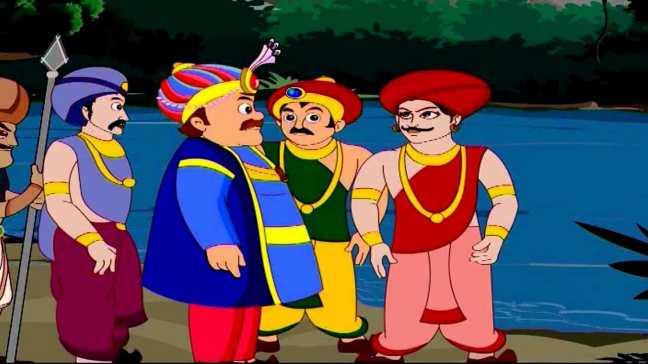 King's Ring Akbar Birbal Stories in Hindi