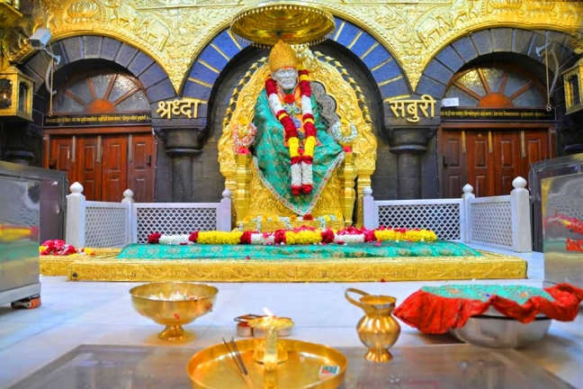 So there would have been a Krishna temple in Shirdi, not Sai?